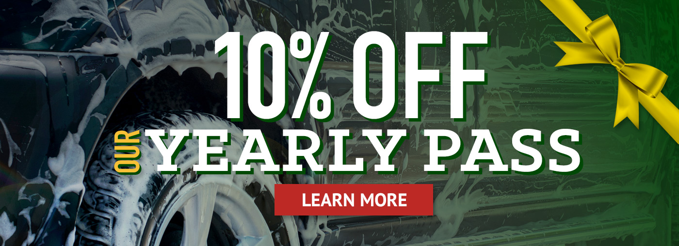 10% OFF our Yearly Pass